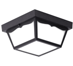 Euri Lighting 16W LED Trapezoidal Ceiling Light, 3000K