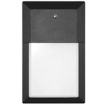 Euri Lighting 12W Mini LED Wall Pack, 5000K