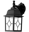 Euri Lighting 11W LED Wall Lantern, 3000K, Clear Glass Lens