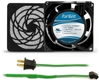 GCAB701 80 mm 120V Cooling Fan Kit w/ Green Fan Cord
