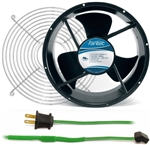 GCAB706 254 mm 120V Cooling Fan Kit w/ Green Fan Cord