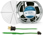 GCAB707 172 mm 120V Cooling Fan Kit w/ Green Fan Cord