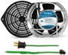 GCAB708 172 mm 120V Cooling Fan Kit w/ Green Fan Cord