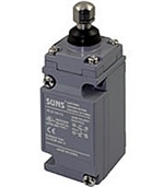 Suns HLS-2A-13 Heavy Duty Limit Switch, 2NO/2NC, Adjustable Top Plunger