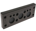 Mencom KADP-24-11 Cable Entry Plate, 4 3.0-6.5mm, 4 5.0-9.2mm, and 3 14.0-20.0mm Entries