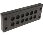 Mencom KADP-24-12 Cable Entry Plate, 12 8-12mm Entries