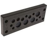 Mencom KADP-24-14 Cable Entry Plate, 6 3.0-6.5mm, 4 5.0-9.2mm, 4 9.6-15.9mm Entries