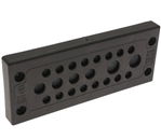Mencom KADP-24-22 Cable Entry Plate, 16 3-6.5mm, 4 5-9.2mm, 2 8-12.5mm Entries