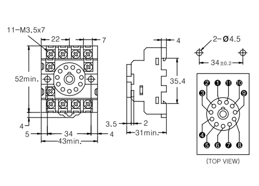 Wiring Diagram PDF: 11 Pin Relay Socket Wiring Diagram
