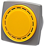Yellow 66mm Alarm 220V AC