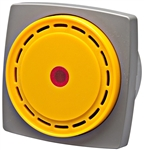 Yellow 66mm LED Alarm, 12-24V DC