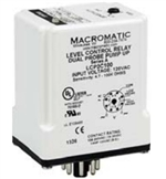 Macromatic 240V Dual Probe Liquid Level Relay, Pump Up, 4.7K to 100K