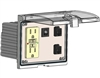 Mencom LP3-GF-2RJ45-5R Low Profile Programming Interface