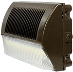 Lumateq 40W LED Full Wall Pack, 5000K, 110-277V