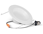 "M630218 12W Antibacterial 6"" LED Down Light, 3000K, 120V - Case of 4"