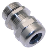 "MCG-1/2 1/2"" NPT Nickel Plated Brass Strain Relief Fitting"
