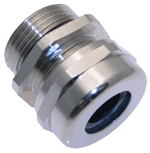 "MCG-1.0 1"" NPT Nickel Plated Brass Strain Relief Fitting"
