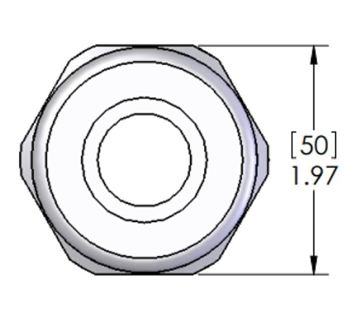 Mencom Mcg 1 25 1 14 Npt 16 27 Mm Cable Gland