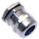 MCG-16R PG 16 Nickel Plated Brass Strain Relief Fitting