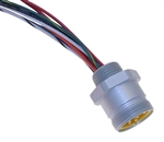 Mencom MIN Male Receptacle - MIN-12MR-1-22