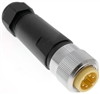 Mencom MIN Size I 3 Pin Male Hardwired Connector - MIN-3MP-FW