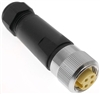 Mencom MIN Size I 4 Pin Female Hardwired Connector - MIN-4FP-FW