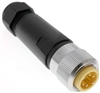 Mencom MIN Size I 4 Pin Male Hardwired Connector - MIN-4MP-FW
