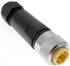 Mencom MIN Size I 5 Pin Male Hardwired Connector - MIN-5MP-FW