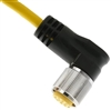 Mencom 9 Pole MIN Molded Cable - MIN-9FPX-12-R