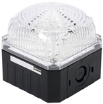 Menics 95 mm Cube Beacon Light, 12-24V, Clear