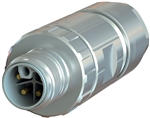 Sealcon M12 Connector, Male Straight, 4 Pin, K Code