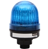 Menics 56mm LED Beacon Light, 110V, Blue