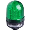 Menics 66mm LED Beacon Light, 110-220V, Green, Steady/Flash, Alarm