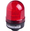Menics 66mm LED Beacon Light, 110-220V, Red, Steady/Flash