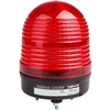 Menics 86mm LED Beacon Light, 24V, Red, w/ Alarm