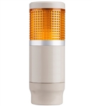 Menics MT4B1AL-Y 1 Tier Tower Light, Yellow