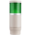 Menics MT4B1CL-G 1 Tier Tower Light, Green