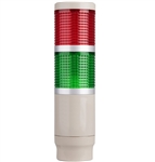 Menics MT4B2AL-RG 2 Tier Tower Light, Red/Green