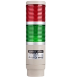 Menics MT4B2CL-RG 2 Tier Tower Light, Red/Green