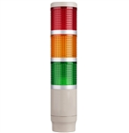 Menics MT4B3CL-RYG 3 Tier Tower Light, Red/Yellow/Green