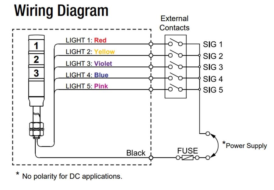 Tower Light Circuit Diagram - Schematics Wiring Diagrams •