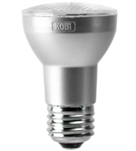 Kobi Electric PAR16-45-30-FL 6W PAR16 LED Light, 3000K, 120V