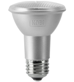 Kobi Electric PAR20-50-30-FL 7W PAR20 LED Light, 3000K