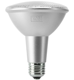 Kobi Electric PAR30L-75-30-FL 11W PAR30 LED Light, 3000K, Long Neck