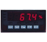 Red Lion DC Input Panel Meter, 5 Digit, Red LED