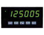Red Lion Dual Counter/Rate Meter, 6 Digit, Green LED