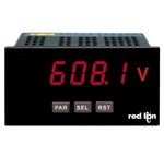 Red Lion Universal DC Input Panel Meter, 5 Digit LED