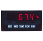 Red Lion Process Input Panel Meter, 5 Digit, Red LED