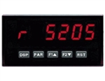 Red Lion Rate Panel Meter, 5 Digit, Red LED