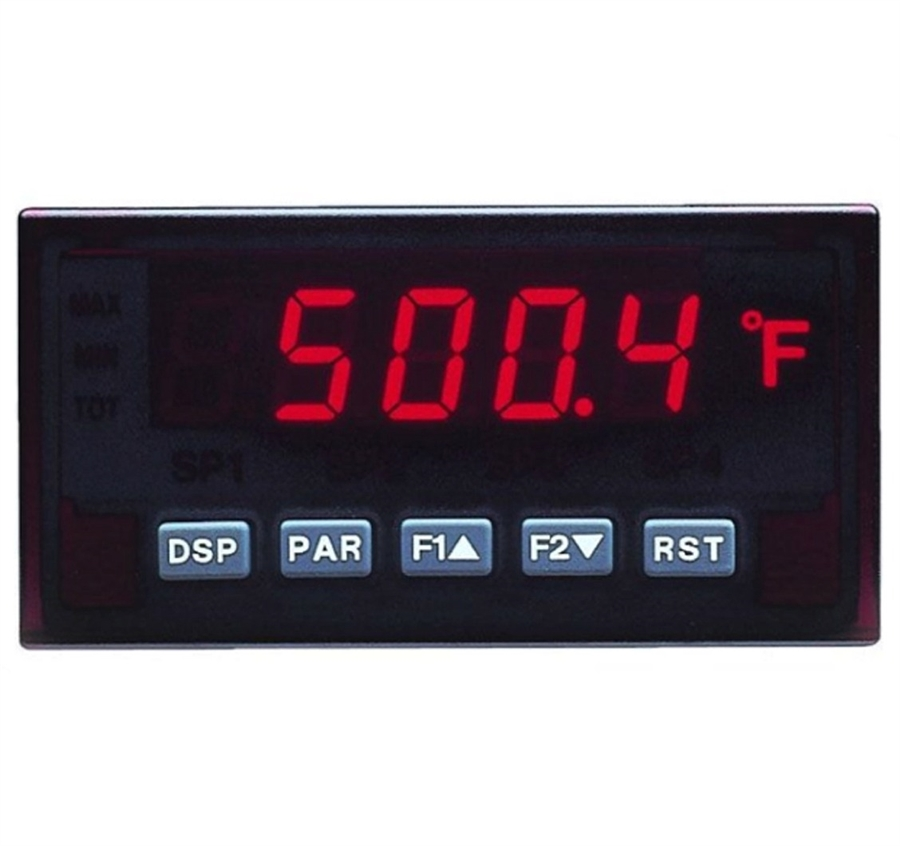 11 to 36 VDC//24 VAC Input Voltage 6 Digit LED Display Red Lion PAXC 1//8 DIN Dual Counter Panel Meter 50//60 Hz